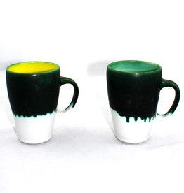Kiara Matos Green Drip Mug