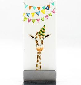 Flatyz Happy Birthday Giraffe D1746