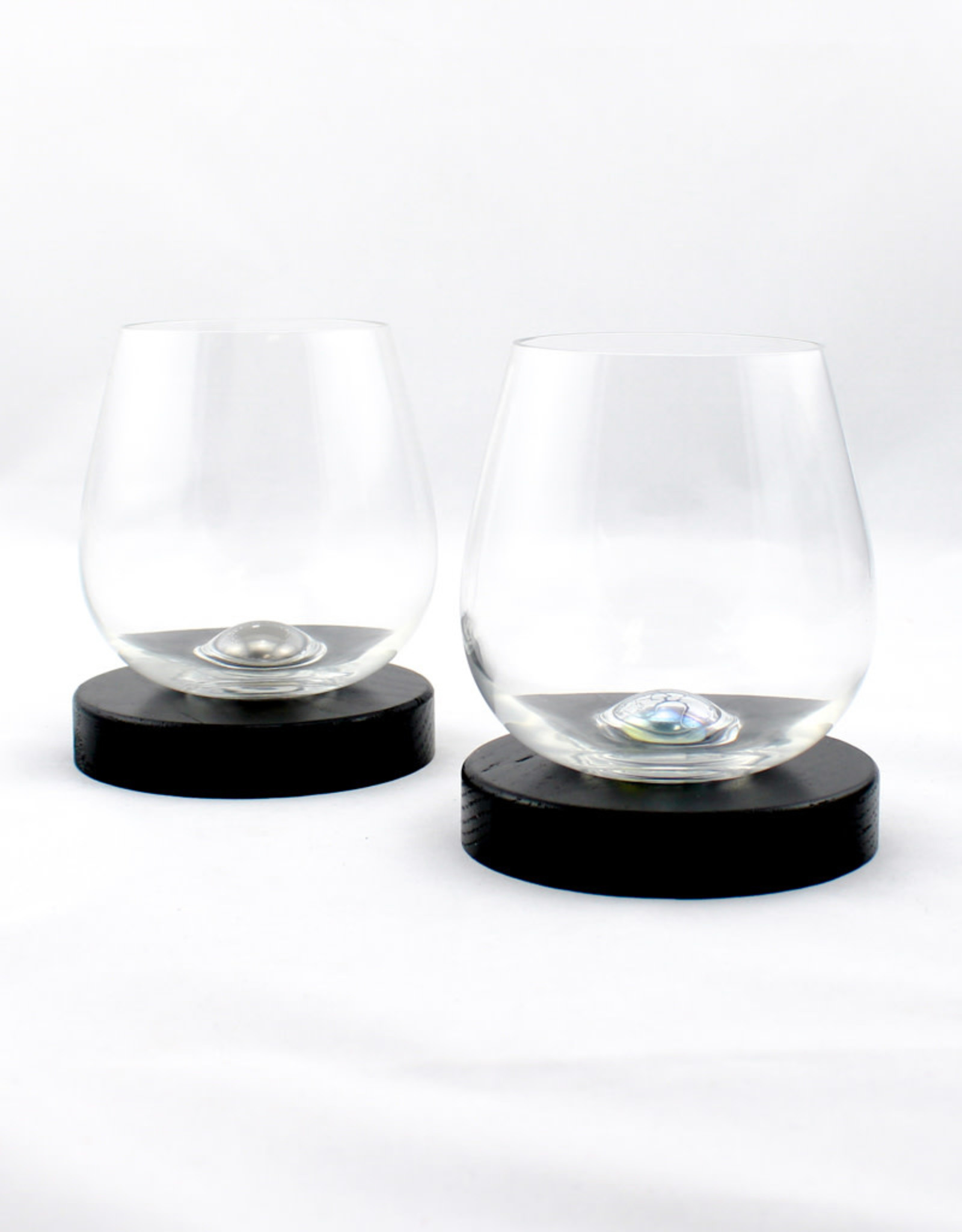 Aura Glass Aura Glass set of 2 glasses with base