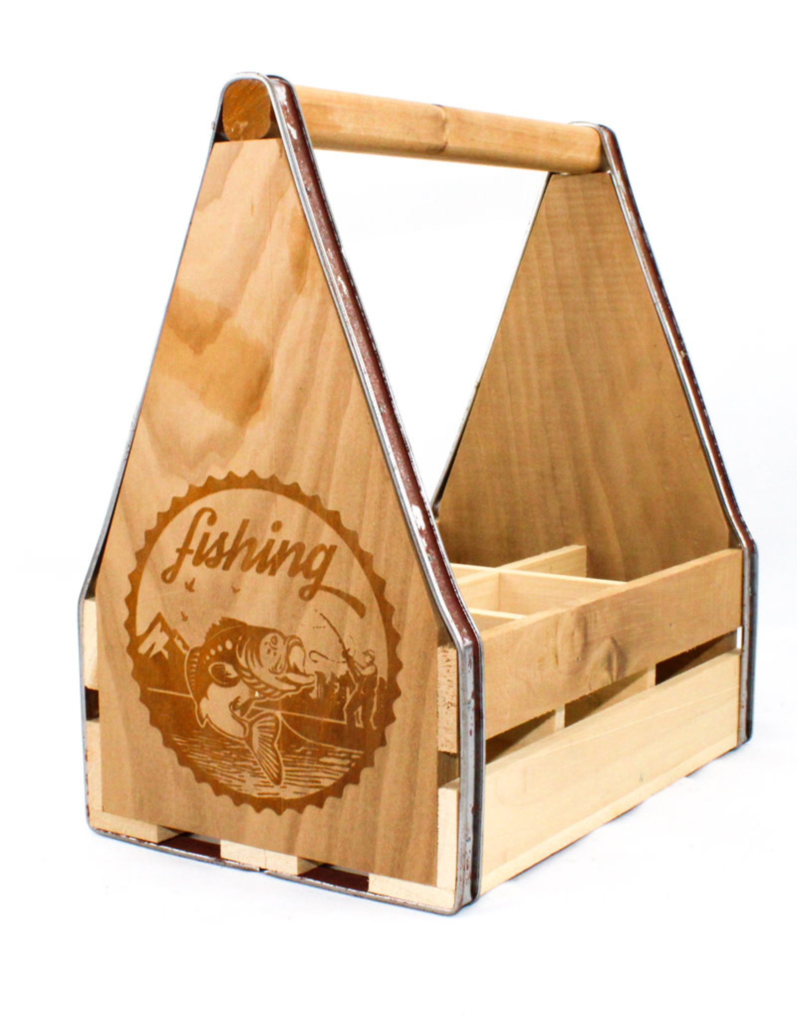Doles Orchard Beer Tote-Fisherman