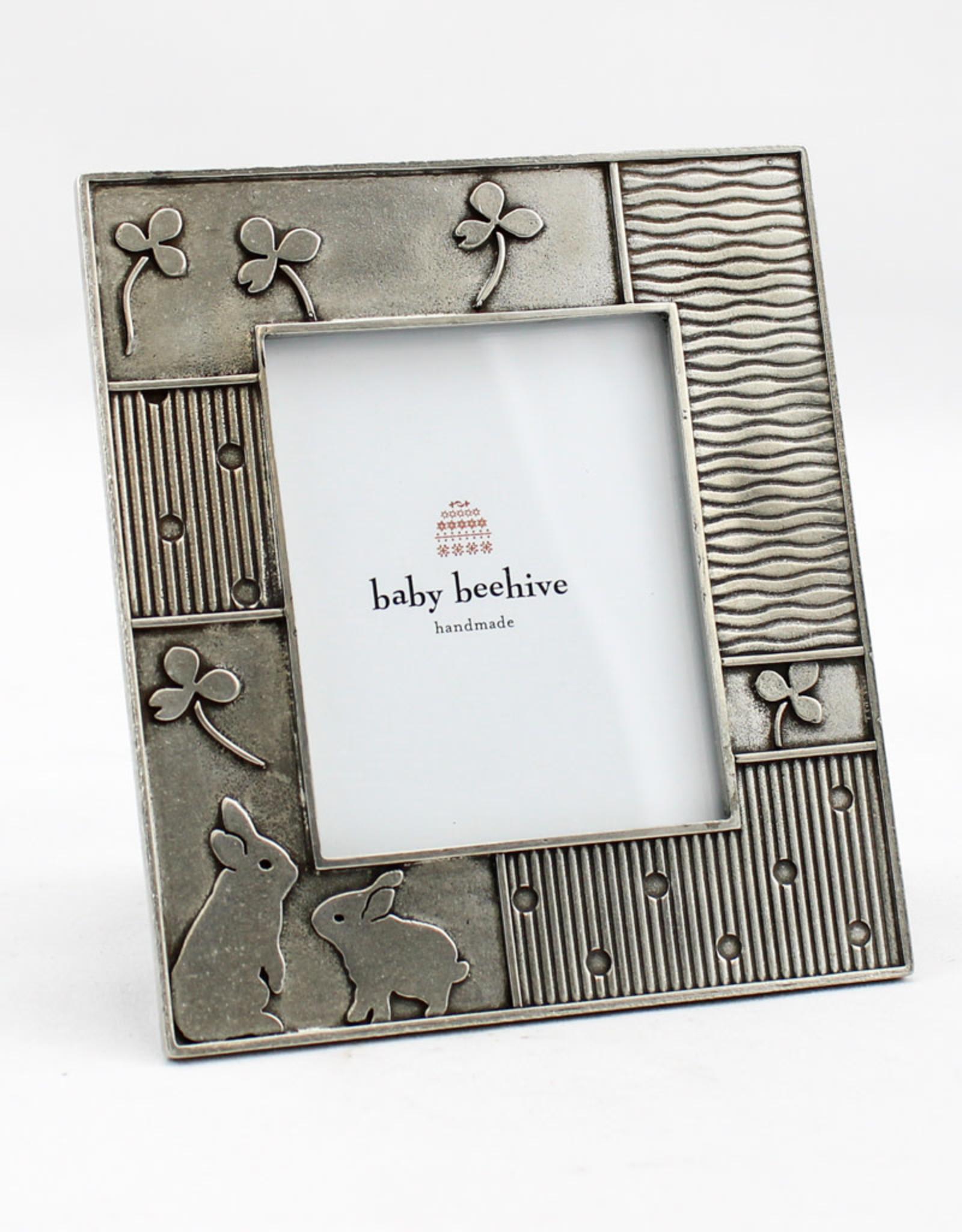 Beehive Handmade Rabbit Picture Frame