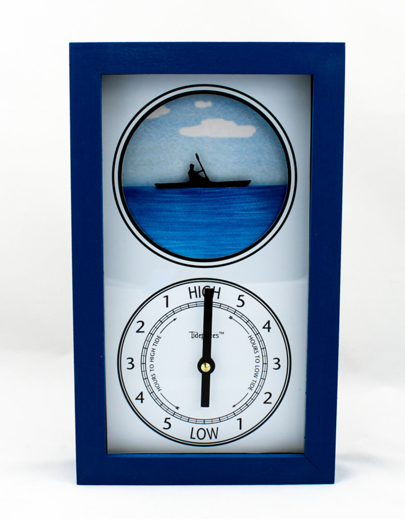 Tide Pieces Kayaker Tide Clock