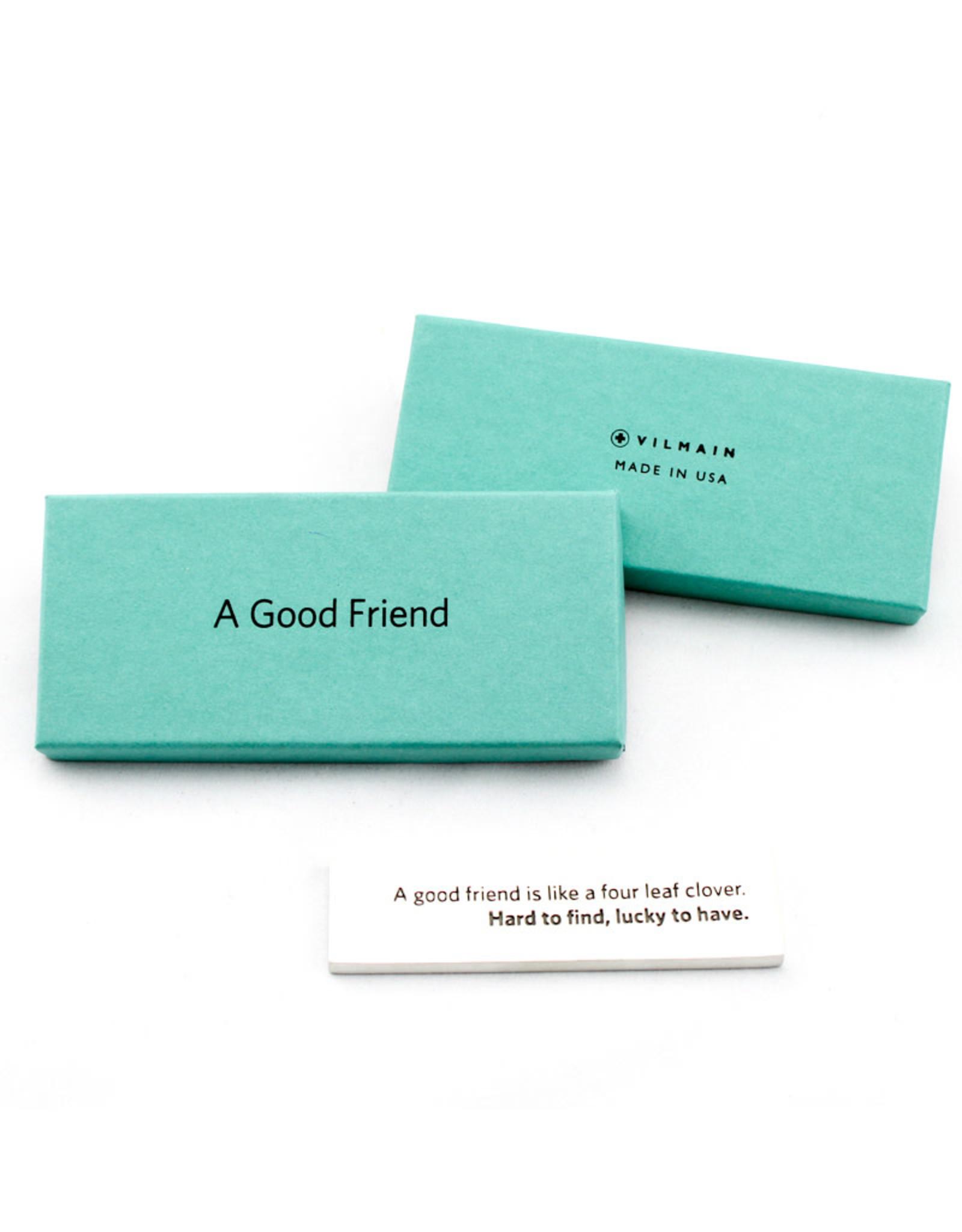 Danforth Pewter Good Friend Paperweight