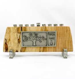 Emily Rosenfeld Tree of Life Menorah