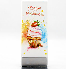Flatyz Happy Birthday Cupcake D1748