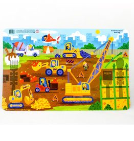 Constructive Eating Construction Worksite Placemat