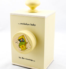 Tree by Kerri Lee Wind-up music box- Rockabye-cream