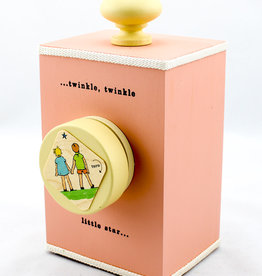 Tree by Kerri Lee Wind-up music box- Twinkle-pink