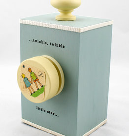 Tree by Kerri Lee Wind-up music box- Twinkle-blue