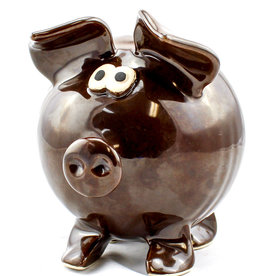 Clay in Motion Piggy Bank