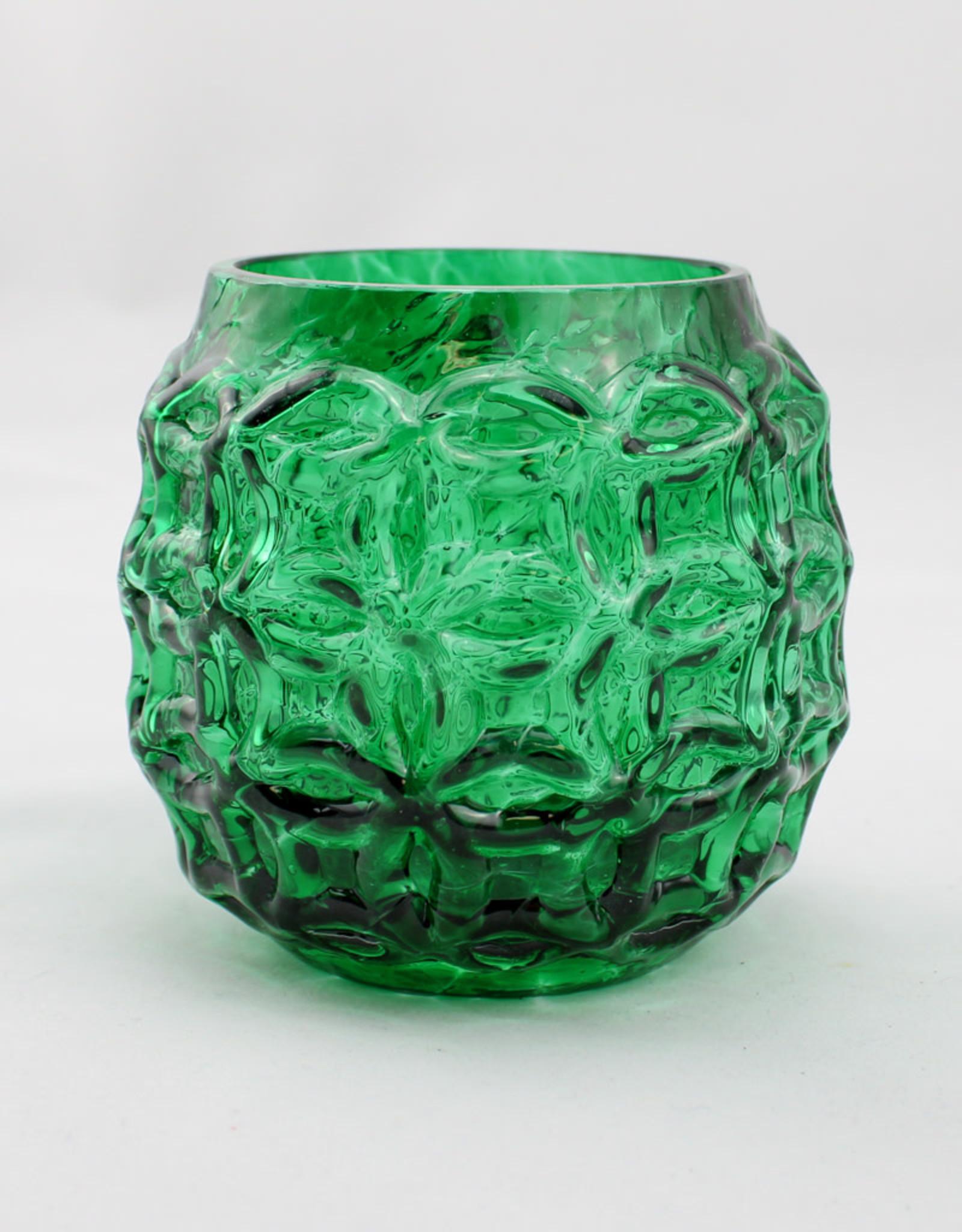 Glass Eye Studio Seahaven Artisan Votive-Seaweed