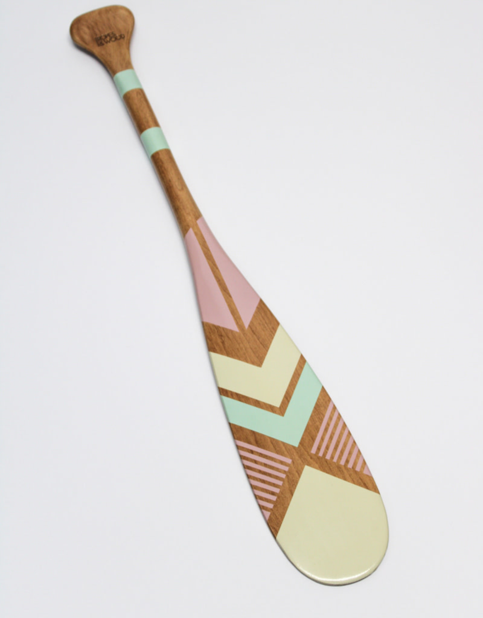 Ropes & Wood Mini Paddle 24'' with Leather Mount