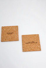 Bright Beam Goods Snacks Cork coaster Gift Set