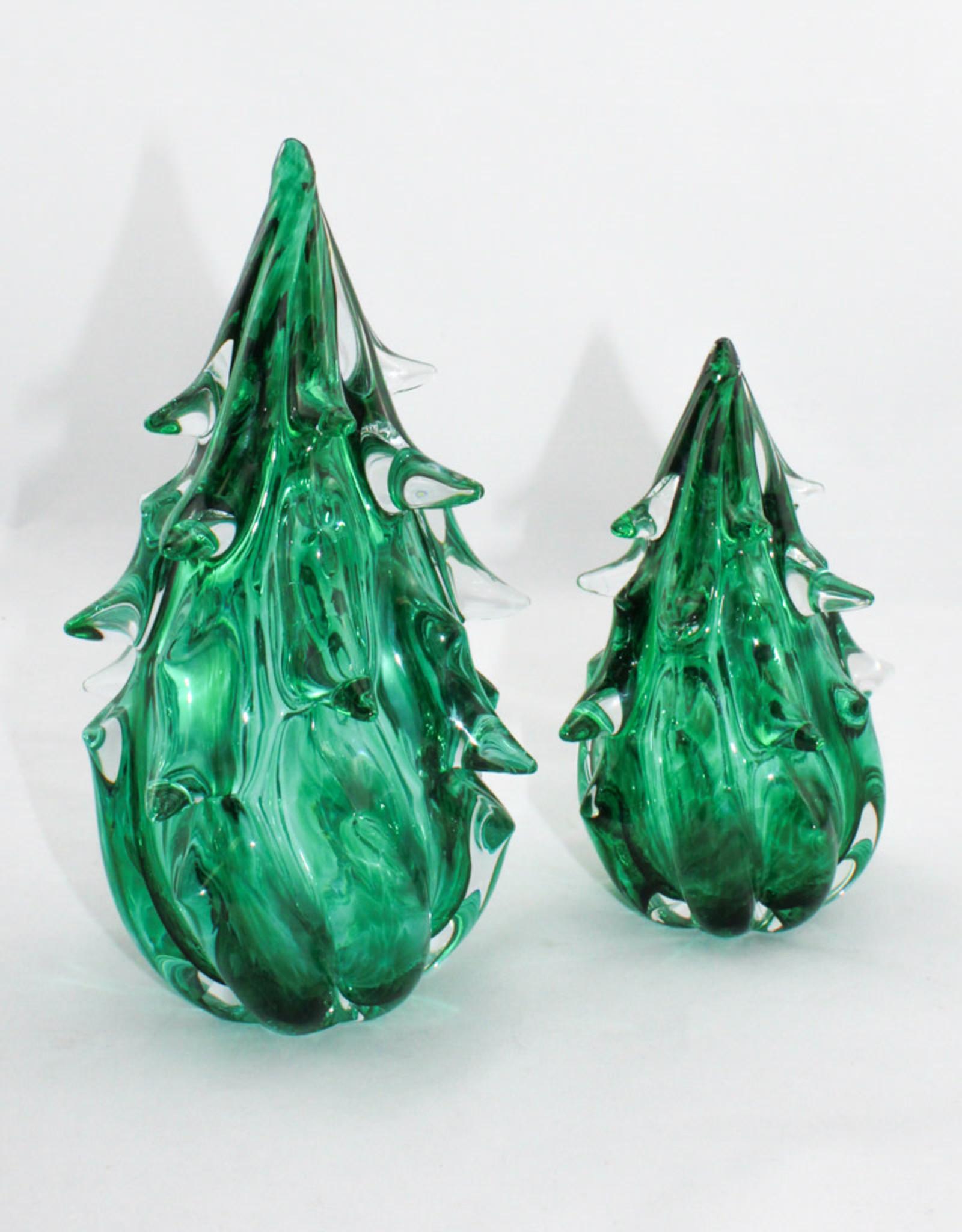 Anchor Bend Glassworks, LLC Glass Green Tree-Large