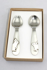 Beehive Handmade Rabbit Spoon Set