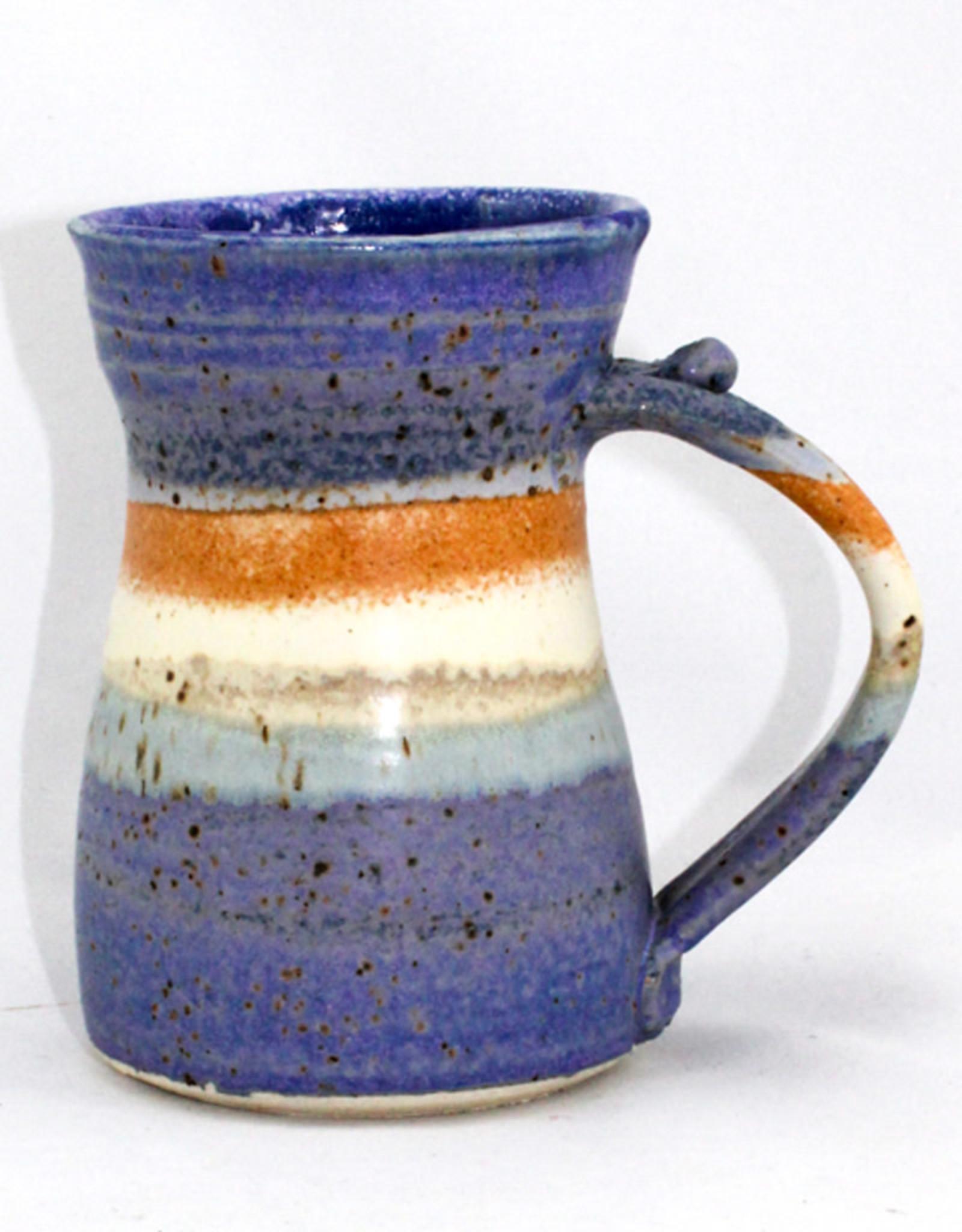 Robert Parrott 16 oz. Blue Mug