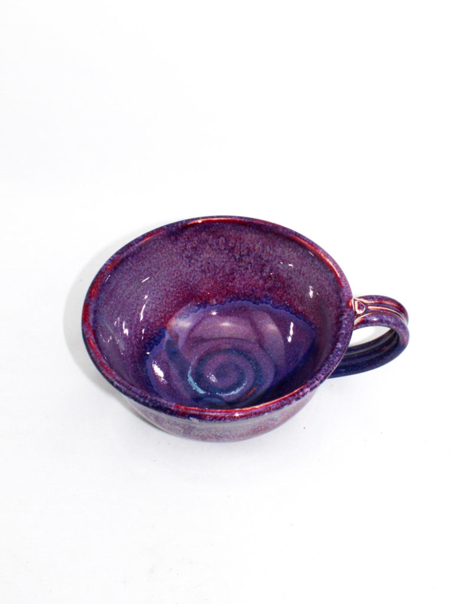 Jason Silverman Ceramics Chowder Mug-Purple