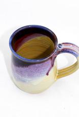 Jason Silverman Ceramics Short Mug-Berries & Cream