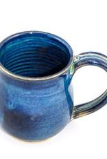 Jason Silverman Ceramics Wide Mug-Water Blue