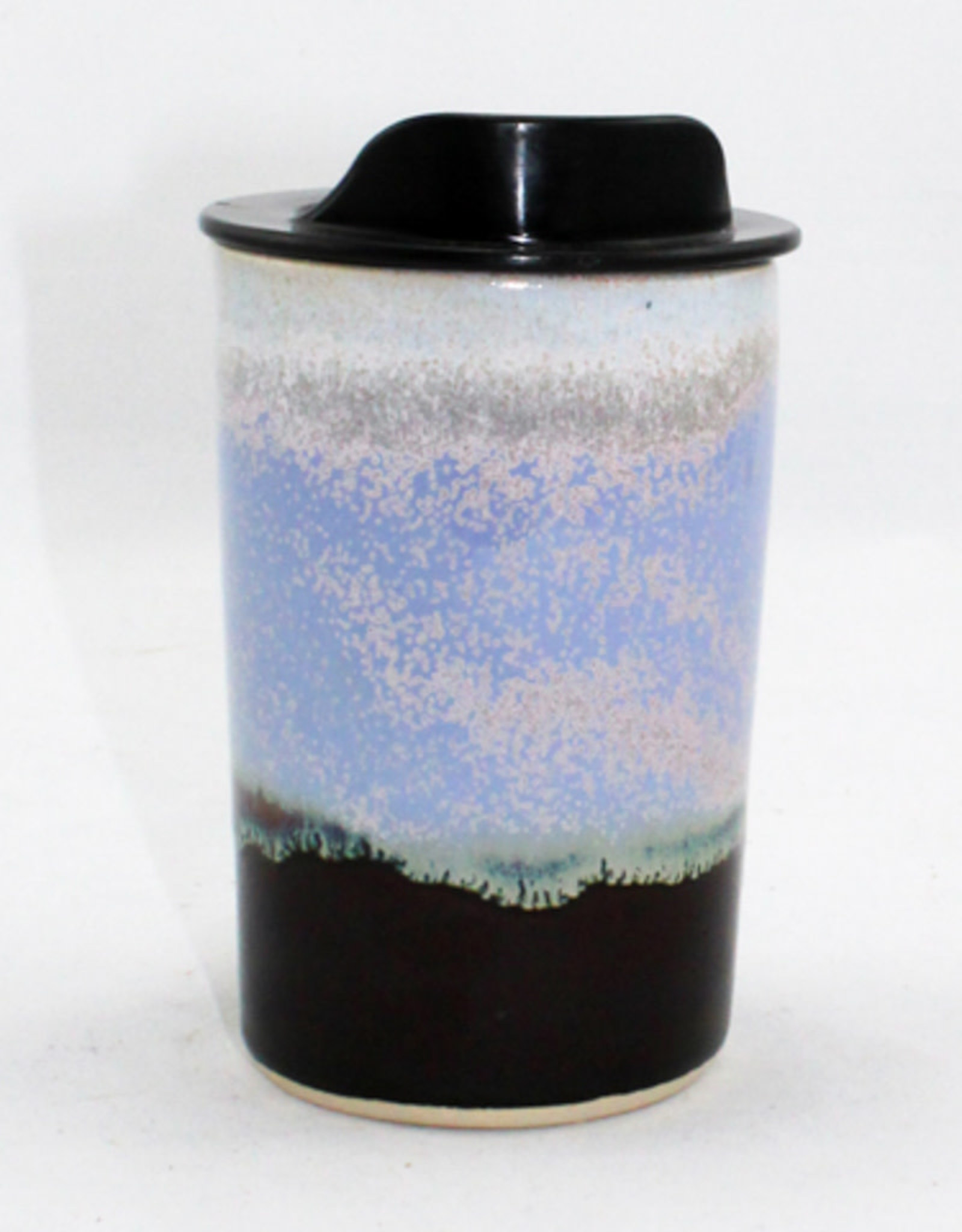 HeartMoss Pottery 12oz. Serenity Travel Mug