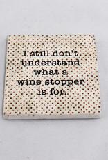 Paisley & Parsley Wine stopper Coaster