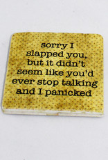 Paisley & Parsley Slapped Coaster