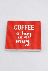 Paisley & Parsley Hug in a Mug Coaster