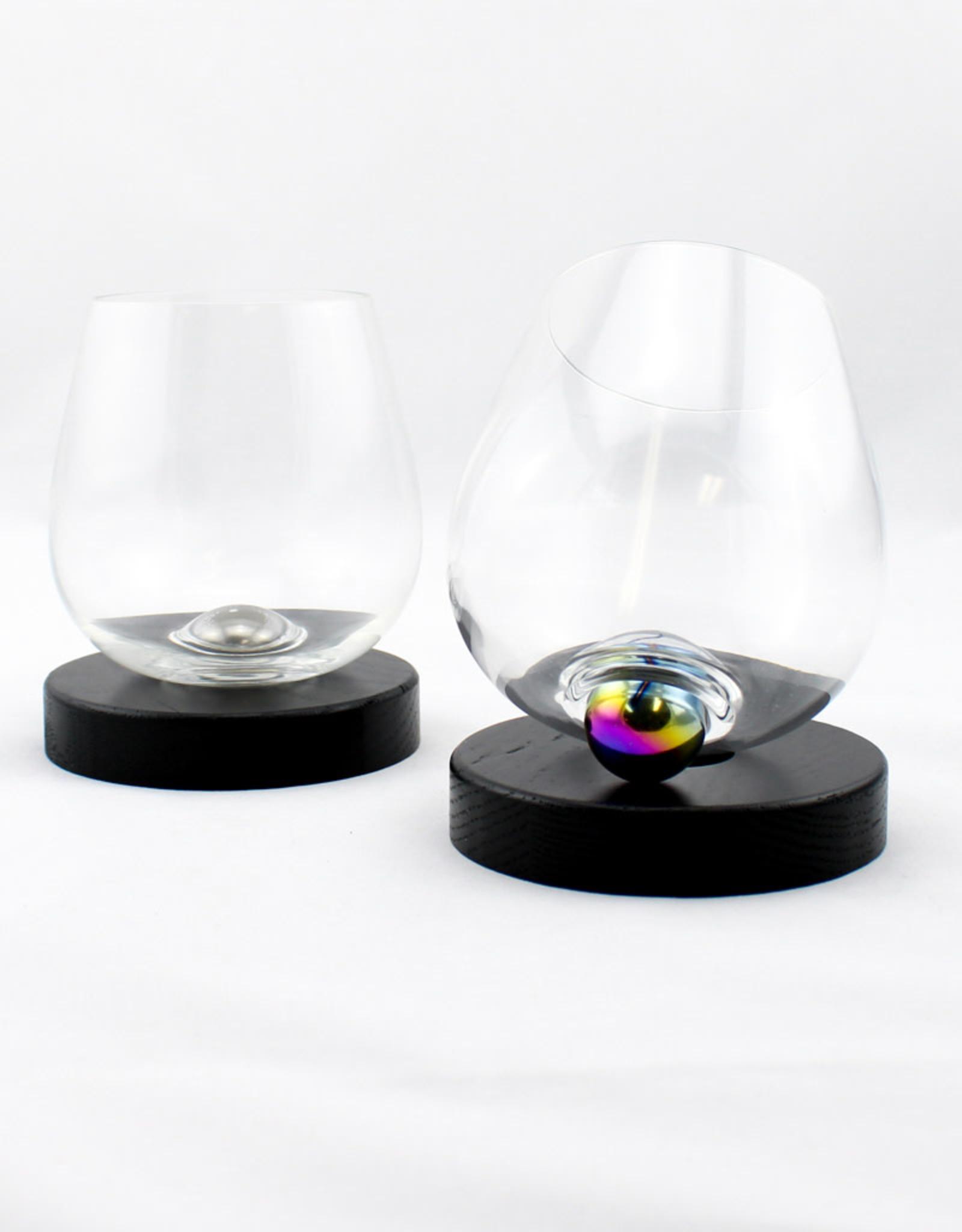 Aura Glass Aura Glass set of 2 glasses with base
