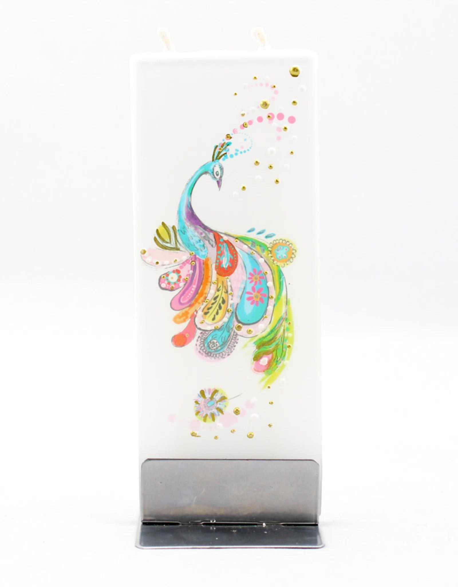 Flatyz Artsy Peacock Candle