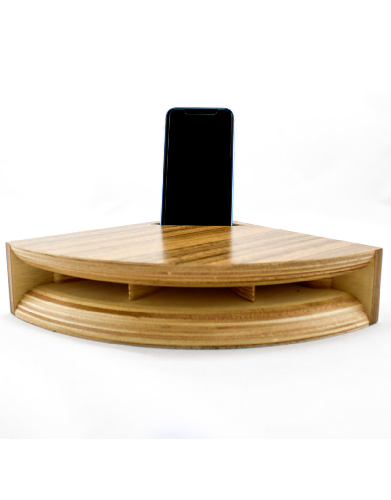 Clappin Wood Jam Woodhorn Sound Amplifier-Large