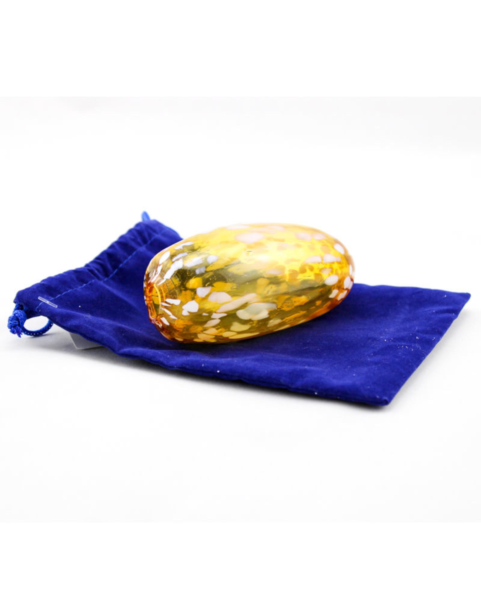 Beames Designs Gold Wedding Glass