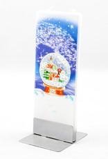Flatyz Snowglobe Candle