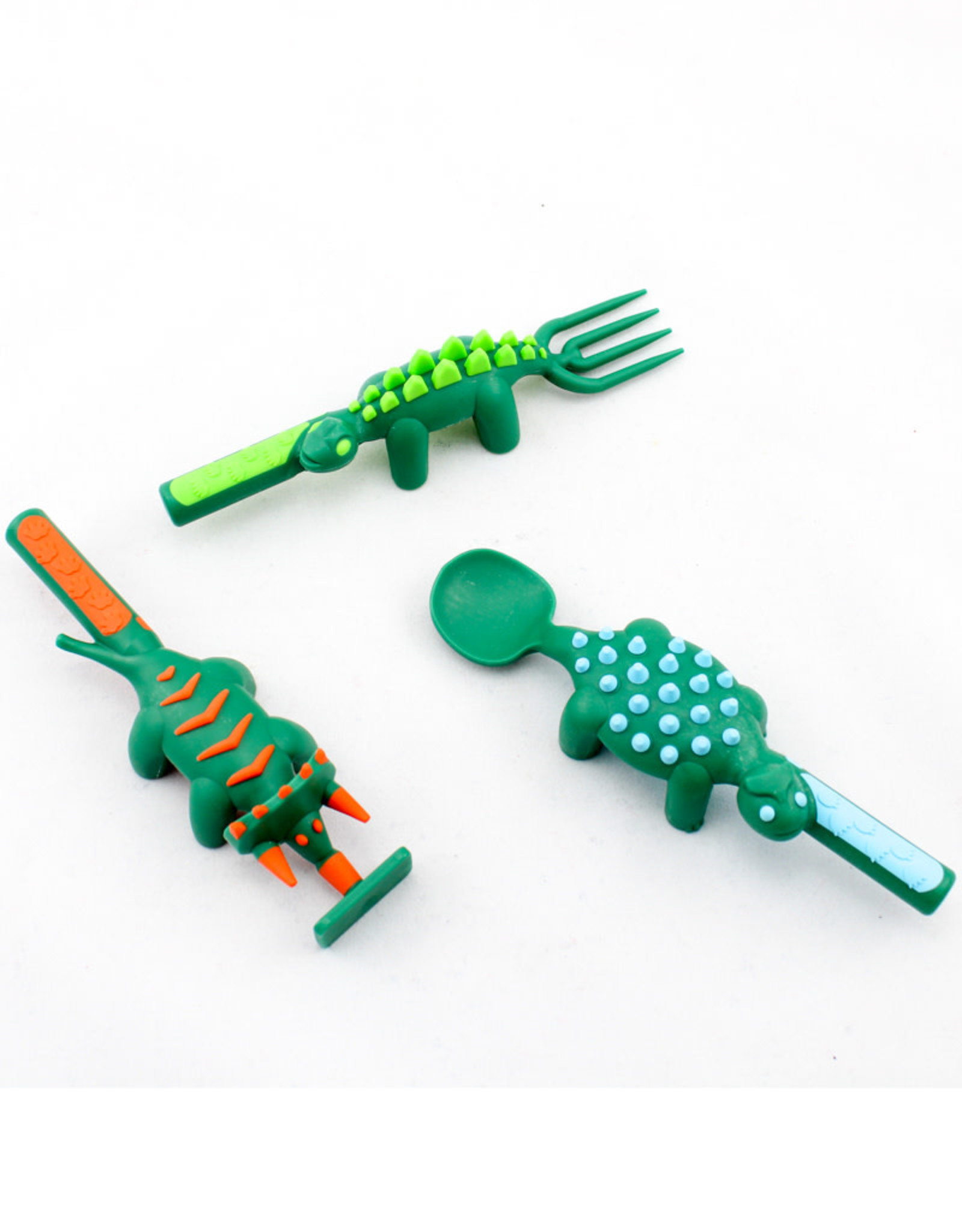 Constructive Eating Set of 3 Dino Utensils