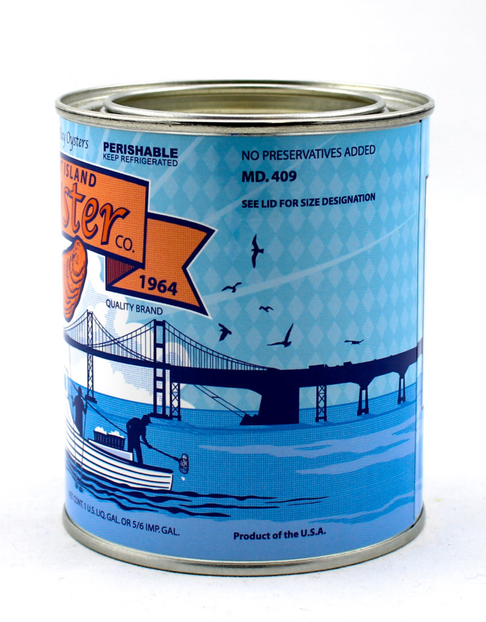 Kim Hovell Kent Island Oyster Candle