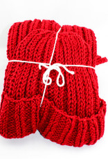 Man Knit Studio Hat & Scarf Set