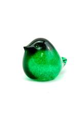 Henrietta Glass Glass Bird Green