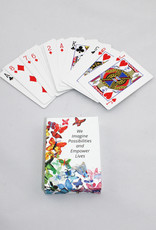 Vista Life Butterfly Playing Cards
