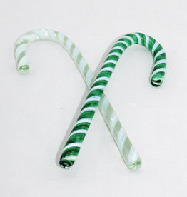Kitras Glass Candy Cane