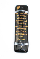 Tamara Baskin Home Blessing Mezuzah-Black