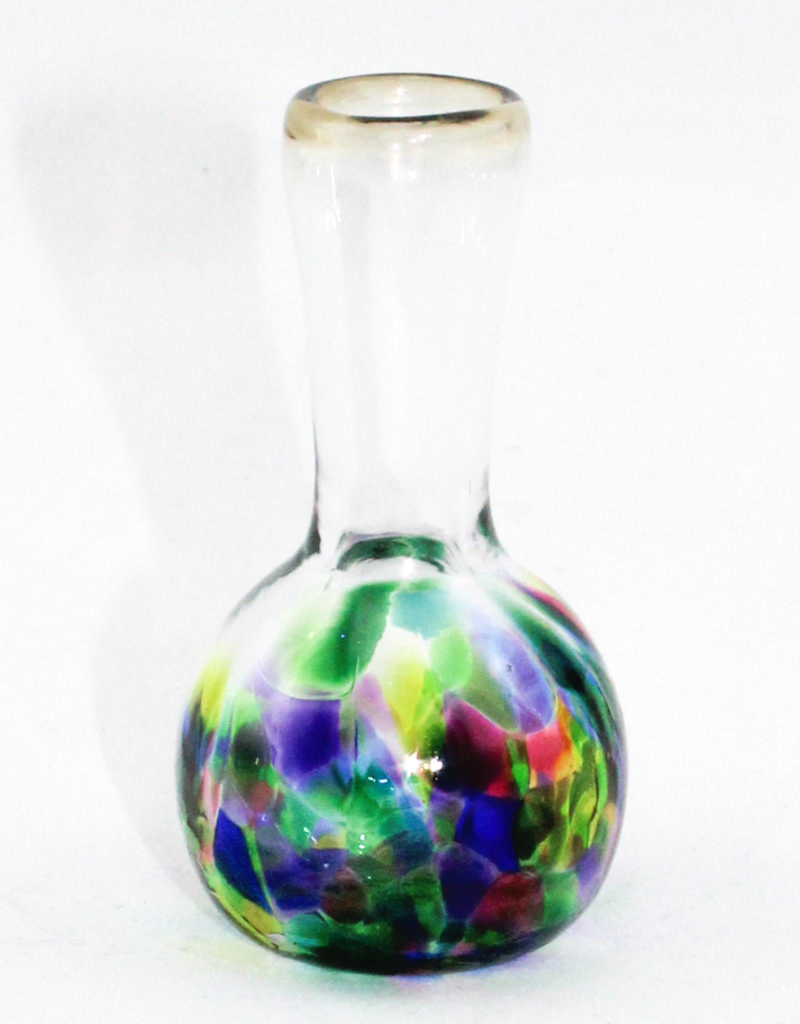 Henrietta Glass Glass Bud Vase Multi