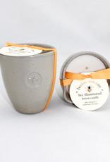 S Formulators Bee Illuminated Stoneware Candle