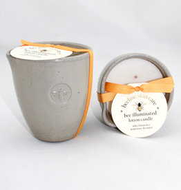 S Formulators Bee Illuminated Stoneware Candle
