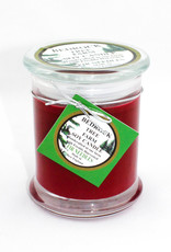Bedrock Tree Farm Burgundy- Fir Tree Candle