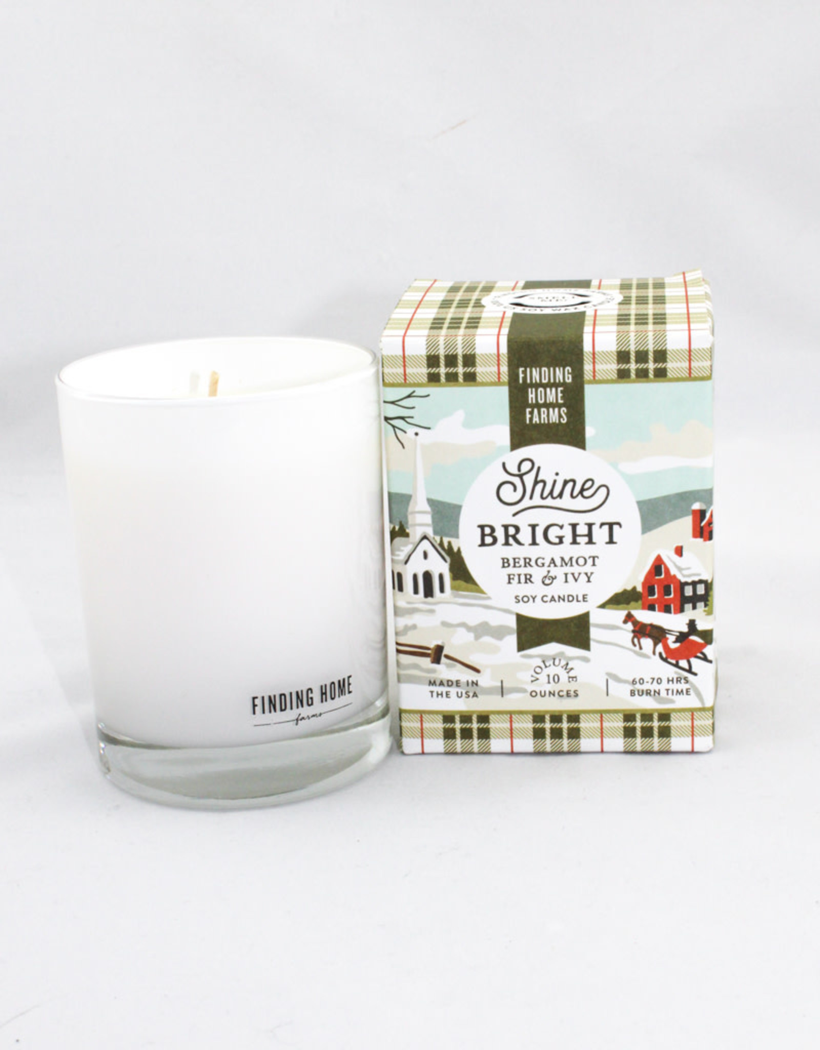 Finding Home Farms Shine Bright Boxed Candle - FHF7922