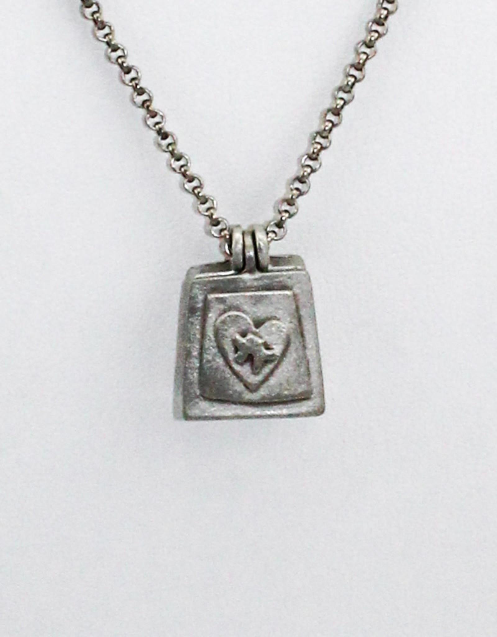 Emily Rosenfeld Locket- Spectrum Necklace