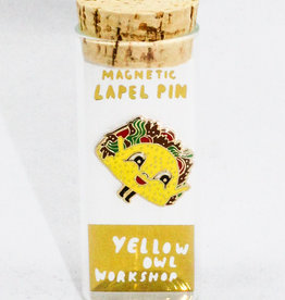 Yellow Owl Workshop Taco Pin