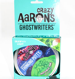 """Crazy Aarons Putty 4"""" Invisible Ink- Crazy Aaron's Thinking Putty"""
