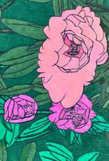 Create Greeting Pink Flowers