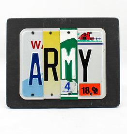 Unique Pl8Z ARMY BLACK