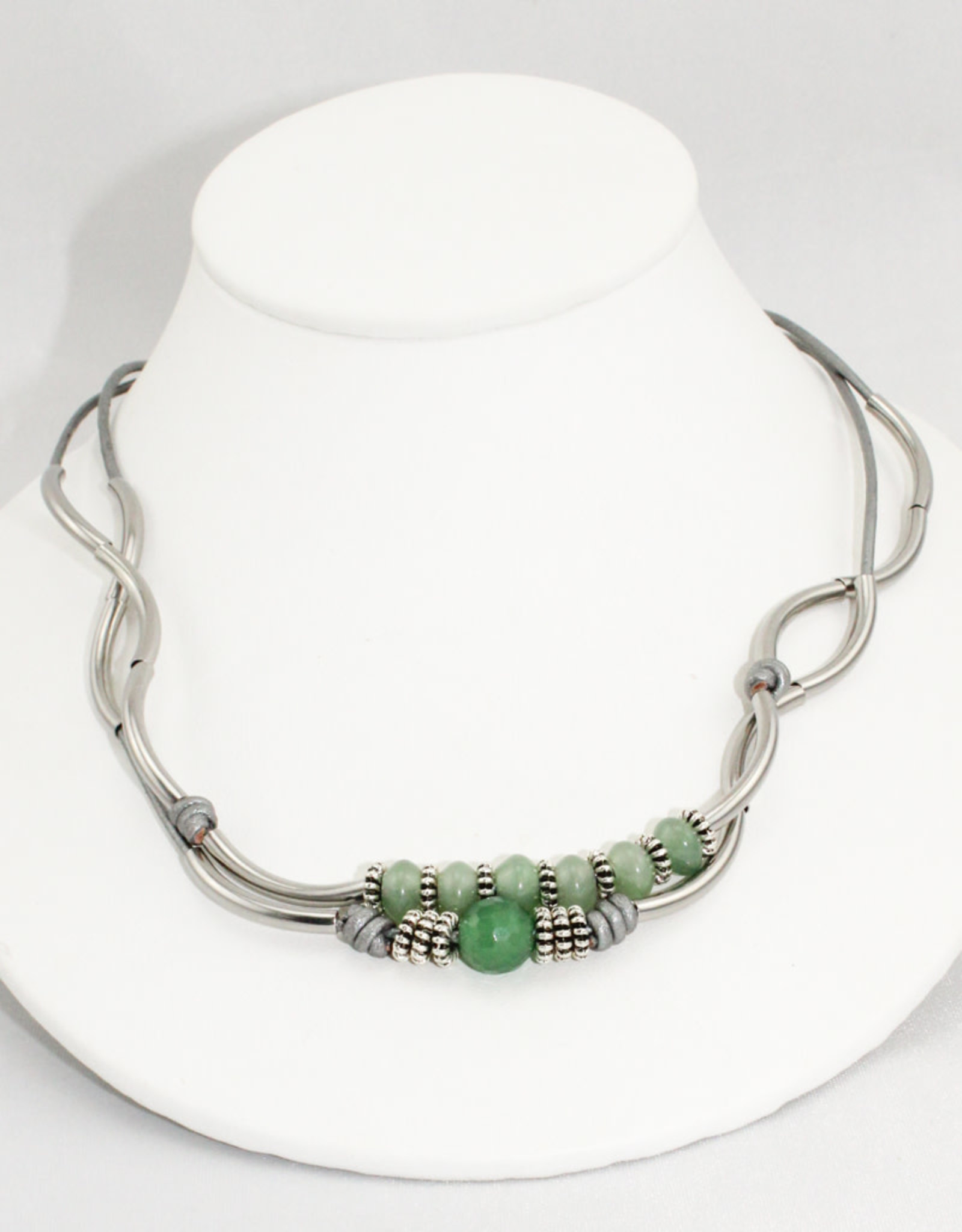 Lizzy James Simone Met Silver 2 -SP-M Bracelet